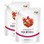 아임요 딸기 베이스 1kg/2개