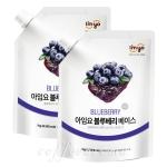 아임요 블루베리 베이스 1kg/2개