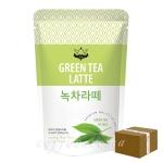 티원 녹차라떼 파우더 500g/1박스 12개