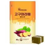 세미 고구마라떼 페이스트 1kg/1박스 10개