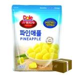 [업체직배송] Dole 돌 냉동파인애플 1kg/1박스 10개