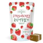 [업체직배송] 냉동딸기 1kg 국내산/1박스 16봉지