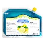 쥬피터 블루레몬시럽 팩 1kg ♣유통기한: 21-02-04