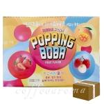 버블스톰 팝핑보바 1200g/3가지맛 4박스 48개