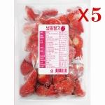 [업체직배송] 포모나 냉동딸기 1kg /5개