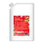 [냉장제품]세미 과육그대로 딸기 500g
